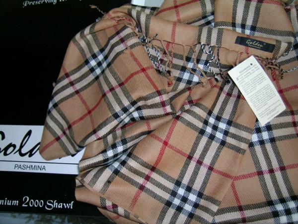 New plaid check 100 cashmere pashmina shawl wrap 12 for New check designs