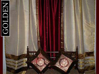 H Antique Cotton Curtains Dutch Print Sweden 41 x 16 | eBay