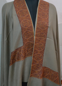 Pashmina Kashmiri Embroidery Daur Shawls